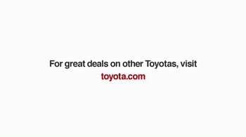 Toyota 1 for Everyone Sales Event TV Spot, 'Career Day' - Thumbnail 9