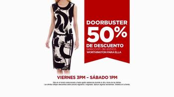 JCPenney Venta de Primavera TV Spot, 'Compras Frescas' [Spanish] - Thumbnail 4