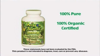 Amazon Thunder TV Spot, 'Taste of Health' - Thumbnail 4