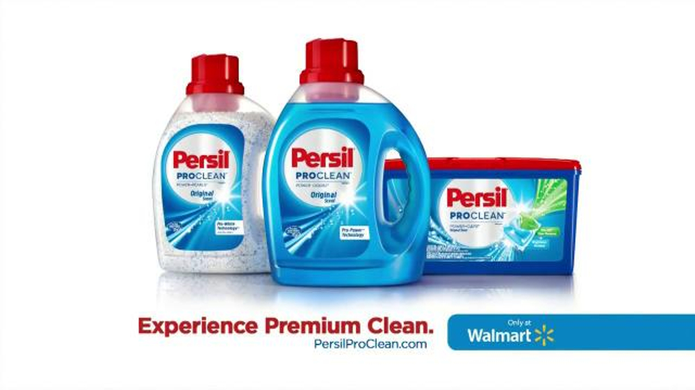 Persil Proclean Tv Commercial The Professional Ispot Tv