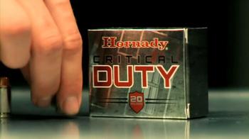 Hornady Critical Duty TV Spot, 'Police Officer' - Thumbnail 4