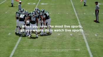 XFINITY TV Spot, 'Most Live Sports: Cougar and Huddle' - Thumbnail 6
