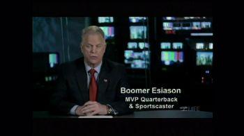 LIFE Foundation TV Spot Featuring Boomer Esiason