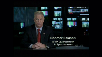 LIFE Foundation TV Spot Featuring Boomer Esiason