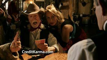 Credit Karma TV Spot, \'Saloon\'