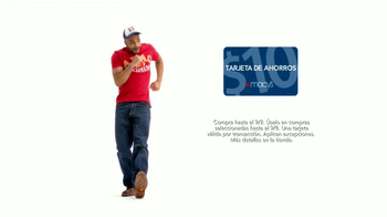 Macy's La Venta Más Grande de Denim TV Spot [Spanish] - Thumbnail 5