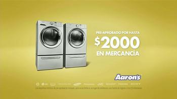 Aaron's TV Spot, 'Primer Lavadora y Secadora' [Spanish] - Thumbnail 8