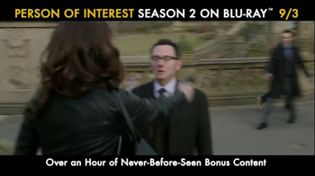 Person of Interest: The Complete Second Season Blu-ray and DVD TV Spot - Thumbnail 5
