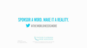 United Nations TV Spot, 'World Humanitarian Day, The World Needs More...' - Thumbnail 10