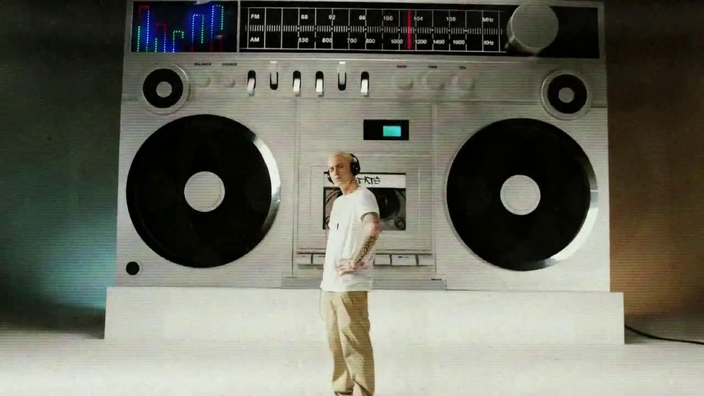 Beats Audio TV Commercial, 'New Beats' Song by Eminem