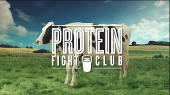 Got Milk? TV Spot, 'Protein Fight Club: Milk vs. Eggs Benedict ' - Thumbnail 1