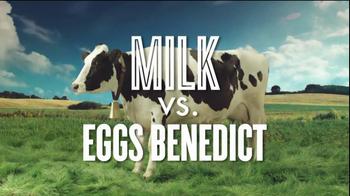 Got Milk? TV Spot, 'Protein Fight Club: Milk vs. Eggs Benedict ' - Thumbnail 2
