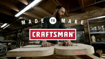 Craftsman TV Spot, 'Made to Make' - 485 commercial airings