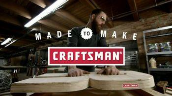 Craftsman TV Spot, 'Made to Make'