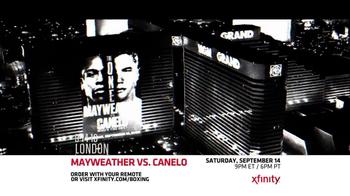 XFINITY On Demand TV Spot, 'Mayweather vs. Canelo' - Thumbnail 4