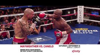 XFINITY On Demand TV Spot, 'Mayweather vs. Canelo' - Thumbnail 5