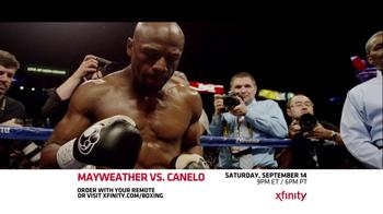 XFINITY On Demand TV Spot, 'Mayweather vs. Canelo' - Thumbnail 6