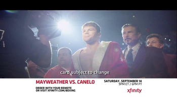 XFINITY On Demand TV Spot, 'Mayweather vs. Canelo' - Thumbnail 7