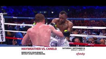 XFINITY On Demand TV Spot, 'Mayweather vs. Canelo' - Thumbnail 8