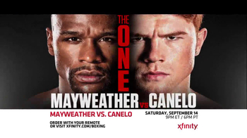 XFINITY On Demand TV Spot, 'Mayweather vs. Canelo'