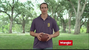 Wrangler TV Spot Featuring Brett Favre, Dale Earnhardt, Jr, Drew Brees - Thumbnail 3