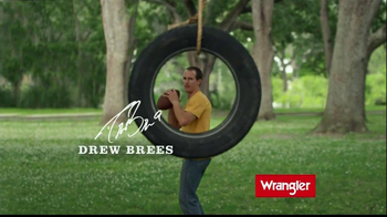 Wrangler TV Spot Featuring Brett Favre, Dale Earnhardt, Jr, Drew Brees - Thumbnail 4