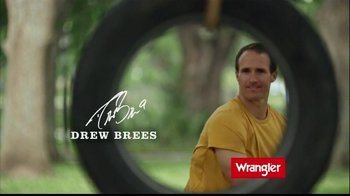 Wrangler TV Spot Featuring Brett Favre, Dale Earnhardt, Jr, Drew Brees - Thumbnail 5