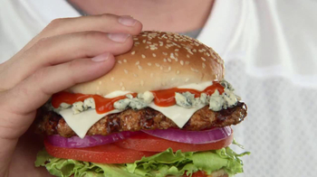 Carl's Jr. Buffalo Blue Cheese Burger TV Spot - Thumbnail 1