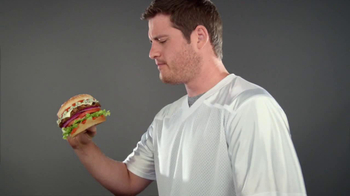 Carl's Jr. Buffalo Blue Cheese Burger TV Spot - Thumbnail 2