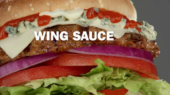 Carl's Jr. Buffalo Blue Cheese Burger TV Spot - Thumbnail 4