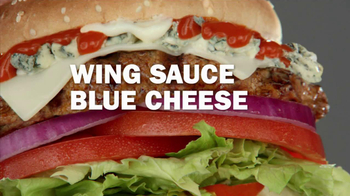 Carl's Jr. Buffalo Blue Cheese Burger TV Spot - Thumbnail 5