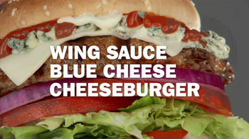 Carl's Jr. Buffalo Blue Cheese Burger TV Spot - Thumbnail 6