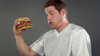 Carl's Jr. Buffalo Blue Cheese Burger TV Spot - Thumbnail 9