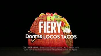 Taco Bell Fiery Doritos Locos Tacos TV Spot, 'Has Pedido' [Spanish] - Thumbnail 7
