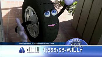 Summit Insurance Agency TV Spot, 'Willy la Llanta' [Spanish] - Thumbnail 1