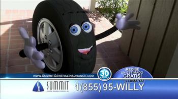 Summit Insurance Agency TV Spot, 'Willy la Llanta' [Spanish] - Thumbnail 2