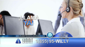 Summit Insurance Agency TV Spot, 'Willy la Llanta' [Spanish] - Thumbnail 4