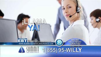 Summit Insurance Agency TV Spot, 'Willy la Llanta' [Spanish] - Thumbnail 5