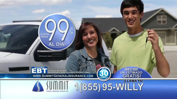 Summit Insurance Agency TV Spot, 'Willy la Llanta' [Spanish] - Thumbnail 7