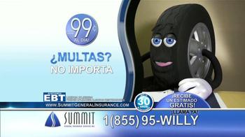 Summit Insurance Agency TV Spot, 'Willy la Llanta' [Spanish] - Thumbnail 8