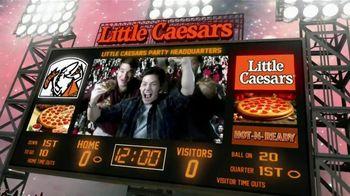 Little Caesars Pizza TV Spot, 'Big Game Party Headquarters' - Thumbnail 1
