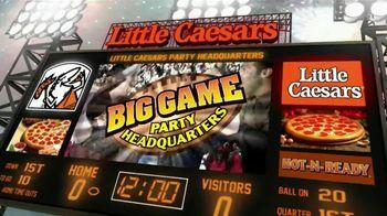 Little Caesars Pizza TV Spot, 'Big Game Party Headquarters' - Thumbnail 2