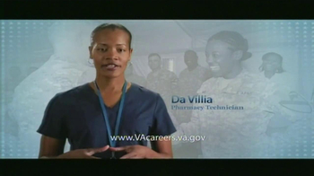 U.S. Department of Veteran Affairs TV Spot, 'Medical Careers'