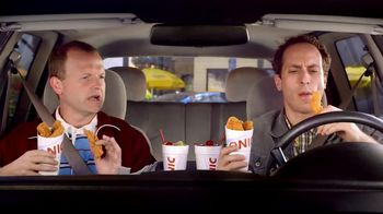 Sonic Drive-In Super Crunch Chicken Strips TV Spot, 'Important Lesson'