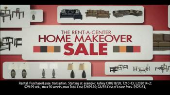 Rent-A-Center Home Makeover Sale TV Spot - Thumbnail 1
