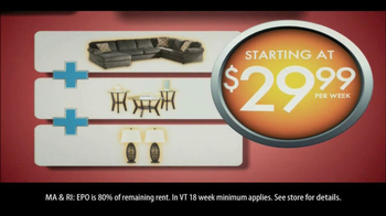 Rent-A-Center Home Makeover Sale TV Spot - Thumbnail 4