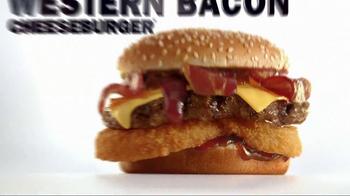 Carl's Jr. Western Bacon Cheeseburger TV Spot - Thumbnail 10
