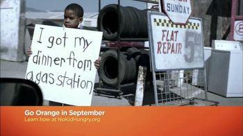 No Kid Hungry TV Spot, 'Go Orange'