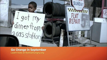 No Kid Hungry TV Spot, 'Go Orange'