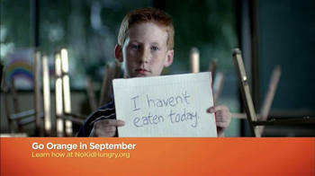 No Kid Hungry TV Spot, 'Go Orange' - Thumbnail 4